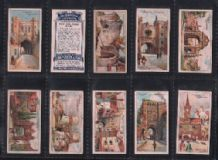 Cigarette cards Celebrated Gateways 1909 by Player's